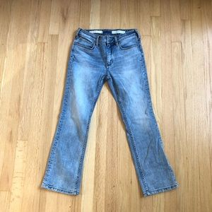 Pilcro High-Rise Bootcut Crop Jeans
